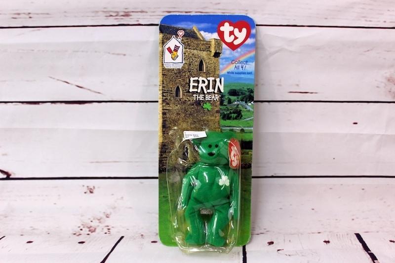 e24b596d350 FREE  TY Beanie Baby 1997 Erin the Bear Ronald McDonald Limited Edition w   tag error