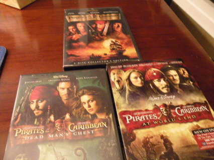 3 Pirates of the Caribbean Movies