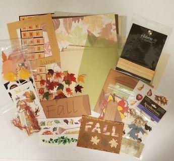 Fall/Autumn Scrapbooking/Cardmaking Kit