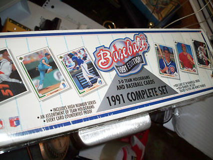 Free 1991 Upper Deck Complete Set 800 Cards Baseball 3d Team