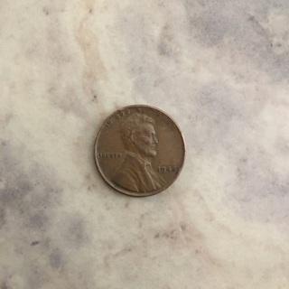 1944 Wheat penny. Average circulation