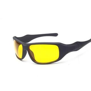 Night Vision Drivers Unisex Sunglasses Gray/ Yellow
