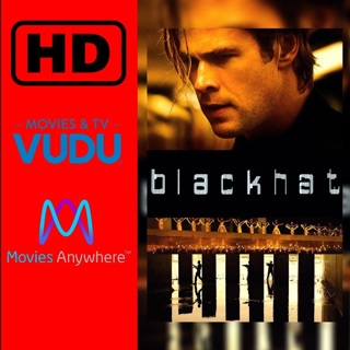 *Rare Code BlackHat Digital HD movie code MA/VUDU