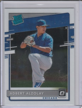 2020 DONRUSS OPTIC ADBERT ALZOLAY ROOKIE CARD