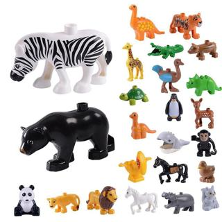 DIY Animal Dinosaur Series Model Building Block Sets Kids Educational Gift Toys