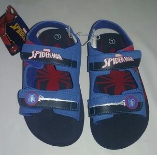 Boy's MARVEL SPIDER-MAN Sandals Size L(9-10)