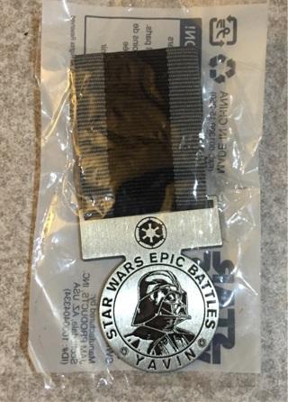Star Wars pin Disney Darth Vader new in package rare