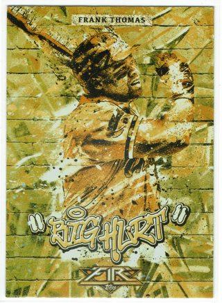 "Frank Thomas ""Big Hurt"" Gold Foil 2017 Topps Chicago White Sox"