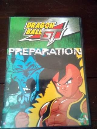 DRAGONBALL GT PREPARATION  (Used Anime DVD)