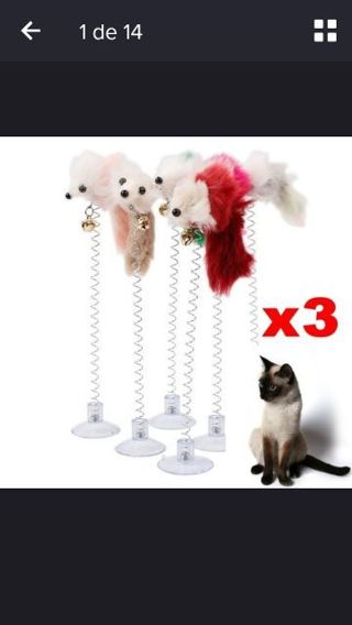 3 Classic cat toys, cats will be fond of this toy