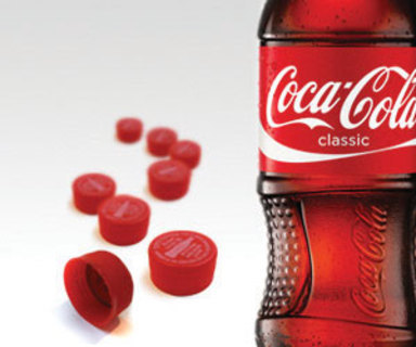 3 coke reward caps, 9 points