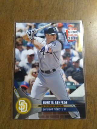 Free Hunter Renfroe 2018 National Baseball Card Day