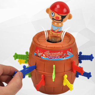 Free: JUMPING PIRATE GAME KIDS POP-UP TOYS BOARD FUNNY