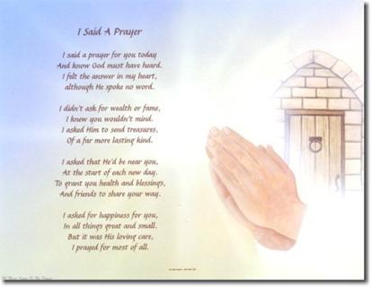 free prayer poem on praying hands background the prayer other