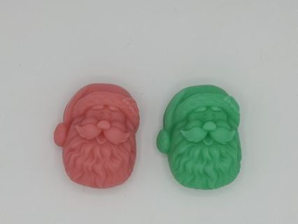 Santa Claus Soap Set! Customize your scent and colors!