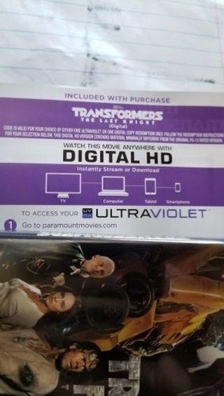 Transformers The Last Knight UV code
