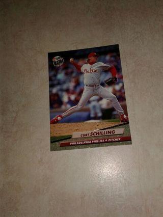 1992 Fleer Ultra Curt Schilling Philadelphia Phillies Pitcher