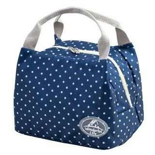 Insulated Cold Canvas Stripe Picnic Carry Case Thermal Portable Lunch Bag 2018