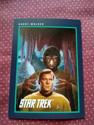 Star Trek Trading Card