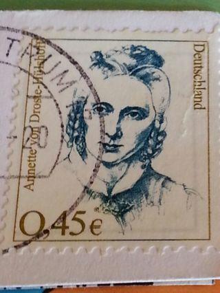 Annette Von Droste Hulshoff German Stamp #24