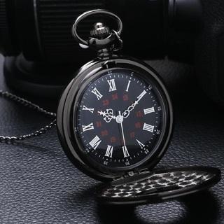 [GIN FOR FREE SHIPPING] Vintage Fashion Roman Number Quartz Steampunk Pocket Watch