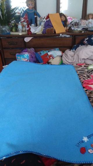 Baby boy little sport blanket by koaka baby