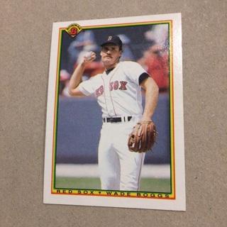 1990 Bowman - [Base] #281 Wade Boggs