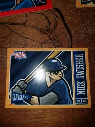 Free Nick Swisher Baseball Card Sports Trading Cards Listiacom