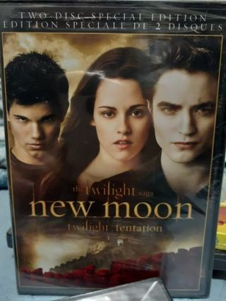 The Twilight saga New Moon DVD Movie