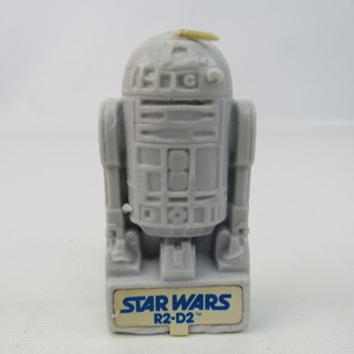 """Vintage Star Wars R2-D2 Candle 3.5"""" Wax 1970's"""