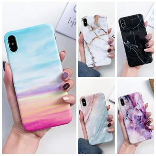 P20Lite Marble Case on for Coque Huawei P20 Lite Case Silicon Soft Gel TPU Phone Cover for Huawei