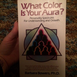 What color is your aura book