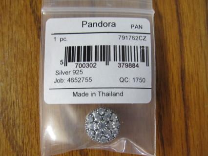 Authentic Pandora RADIANT BLOOM Clear CZs #791762CZ NEW NO GIN!