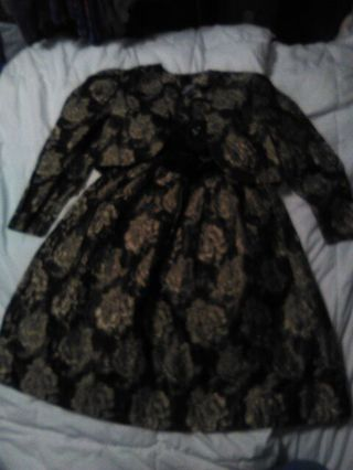 Girls size 12 Polly Flinders Dress and Jacket