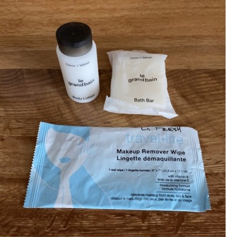 3 Pc Travel Kit ~Le Grand & Makeup Remover Wipe
