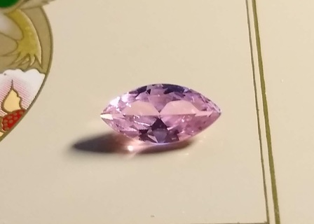 GEMSTONE ALL NATURAL PINK KUNZITE THIS IS A MOST BEAUTIFUL GEMSTONE 3.34 CARATS WOW!