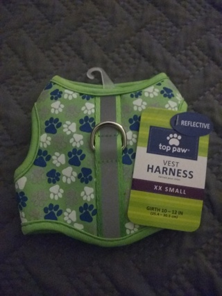 New xxsmall dog harness