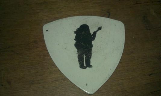 Free Wide Spread Panic Guitar Pick 9 28 2013 Milwaukee