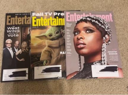 3 Entertainment Magazines