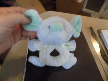 Love N Care soft baby mouse rattle 6 in tall