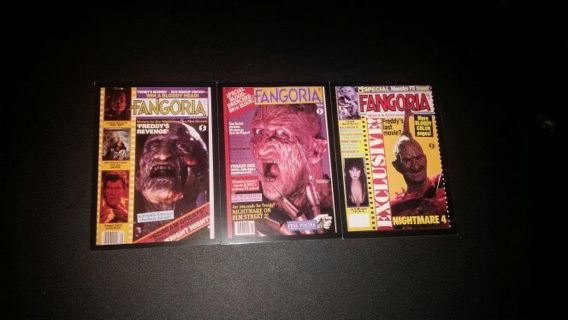 Just in time for Halloween 18 Fangoria cards