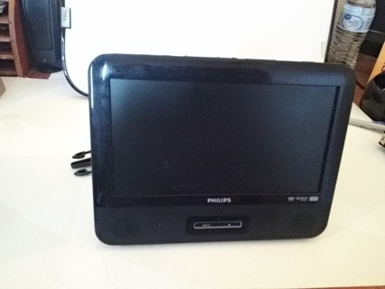 Philips Portable Car DVD Player