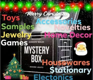 Christmas Gift Mega Mystery Auction $300 Retail 25 Brand New Items 0.01 Start Bid 4 Days Only!