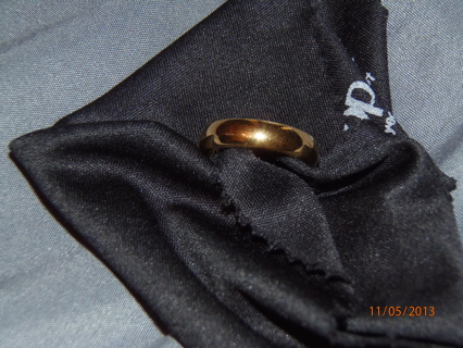 Gold Wedding Band Size 7 - Could be Mens or Womens