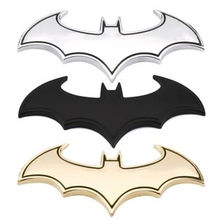 3D Car Stickers Cool Metal Bat Auto Logo Car Styling Metal Batman Badge Emblem