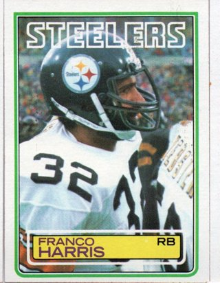 1983 Topps Franco Harris Steelers