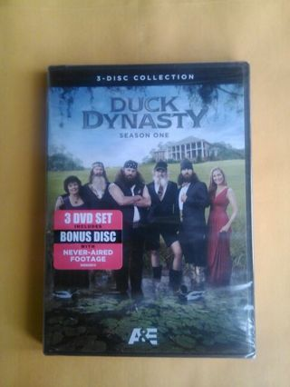 New Sealed Duck Dynasty 3 DVD Collection Season 1 Christmas Gift? Free Shipping