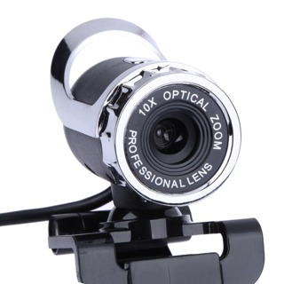 USB 12 Megapixel High Definition Camera Web Cam 360 Degree MIC Clip-on For Skype Computer