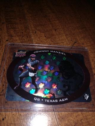 2014 upper Deck SPX football Johnny manziel Rookie Cleveland browns