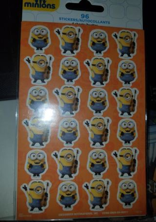 Minion Stickers